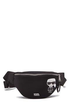 Karl Lagerfeld Iconic Nylon Bumbag 999 Black Bubbleroom.eu