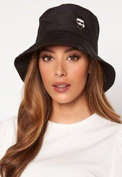 Karl Lagerfeld Ikonik Bucket Hat A999 Black Bubbleroom.eu