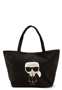 Karl Lagerfeld Ikonik Karl Canvas Tote A999 Black Bubbleroom.eu