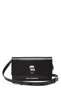 Karl Lagerfeld Ikonik Pin Woc Bag 999 Black Bubbleroom.eu