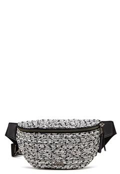 Karl Lagerfeld Quilted Tweed Bumbag Black/White Bubbleroom.eu
