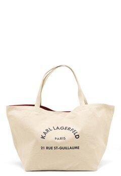 Karl Lagerfeld Rue St Guillaume Canvas 106 Natural Bubbleroom.eu