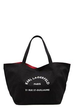 Karl Lagerfeld Rue St Guillaume Canvas 999 Black Bubbleroom.eu