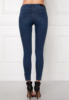 ONLY Kendell Ankle Jeans Dark Blue Denim Bubbleroom.eu
