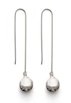 Gynning Jewelry Kettlebell Earring Silver Bubbleroom.eu