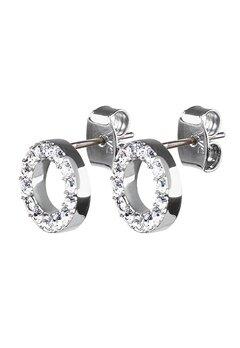 Dyrberg/Kern Koro Crystal Earrings Silver Bubbleroom.eu