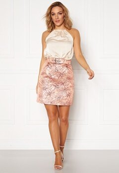 LARS WALLIN Workwear Skirt Pink Metallic Bubbleroom.eu