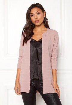ONLY Leco 7/8 Long Cardigan Adobe Rose Bubbleroom.eu