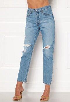 LEVI'S 501 Crop Jeans 0141 Sansome Light Bubbleroom.eu