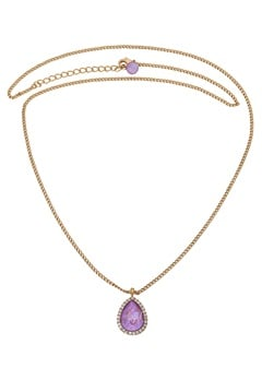 LILY AND ROSE Amy Necklace Lilac Rainbow Bubbleroom.eu