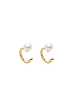 LILY AND ROSE Kennedy Cuff Earrings Ivory Bubbleroom.eu