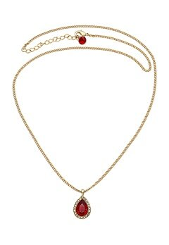 LILY AND ROSE Miss Amy Necklace Scarlet Bubbleroom.eu