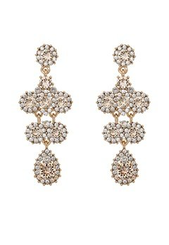 LILY AND ROSE Miss Kate Earrings Champagne Bubbleroom.eu