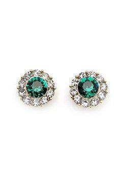 LILY AND ROSE Miss Sofia Earrings Emerald Bubbleroom.eu