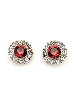 LILY AND ROSE Miss Sofia Earrings Scarlett Red Bubbleroom.eu