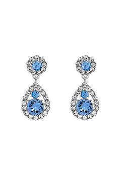 LILY AND ROSE Petite Sofia Earrings Light Sapphire Bubbleroom.eu