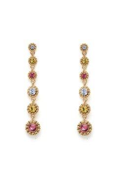 LILY AND ROSE Petite Celeste Earrings Rose Bubbleroom.eu