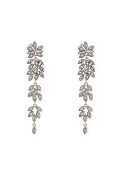 LILY AND ROSE Petite Laurel Earrings Crystal Bubbleroom.eu