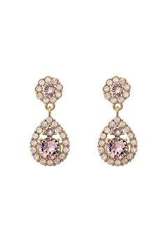 LILY AND ROSE Petite Sofia Earrings Vintage Rose Opal Bubbleroom.eu