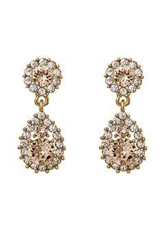 LILY AND ROSE Sofia Earrings Light Silk Bubbleroom.eu
