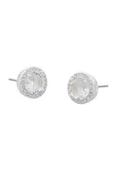 SNÖ of Sweden Lissy Stone Earrings Silver/Clear Bubbleroom.eu