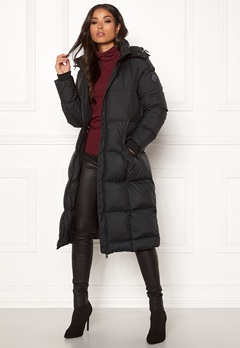 GANT Long Down Coat 5 Black Bubbleroom.eu