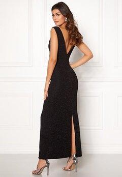 DRY LAKE Loreen Lurex Dress 008 Black Glitter Bubbleroom.eu