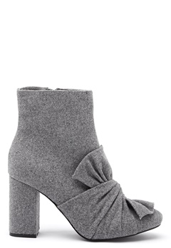 LOST INK Daisy Bow Ankel Boots Grey Bubbleroom.eu