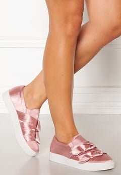 LOST INK Hally Side Bow Slip On Pink Bubbleroom.eu