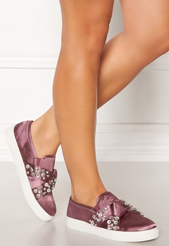 LOST INK Kara Jewel Bow Slip On Pink Bubbleroom.eu