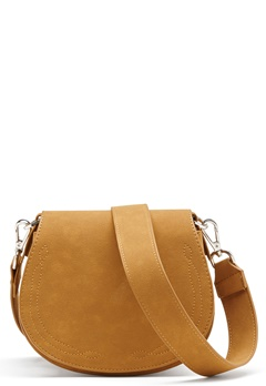 OBJECT Louis Faux Suede Bag Cognac Bubbleroom.eu