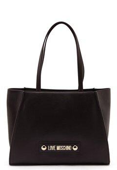 Love Moschino Big Scarf Handbag Black Bubbleroom.eu