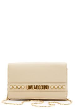 Love Moschino Evening Bag 110 Ivory Bubbleroom.eu