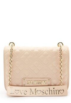 Love Moschino Evening Bag Ivory Bubbleroom.eu