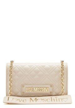 Love Moschino Evening Bag Ivory Bubbleroom.eu