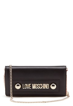 Love Moschino Logo Chain Bag Black Bubbleroom.eu