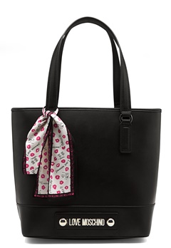 Love Moschino Love Moschino Letter Bag Black Bubbleroom.eu