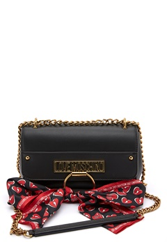Love Moschino Love Moschino Scarf Bag 000 Black Bubbleroom.eu