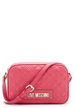 Love Moschino New Shiny Quilted Bag 604 Fuxia Bubbleroom.eu