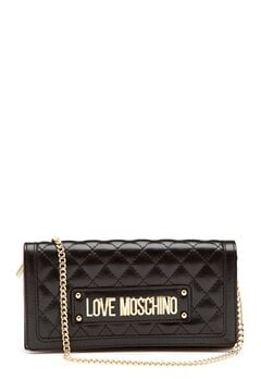 Love Moschino New Shiny Quilted Black Bubbleroom.eu