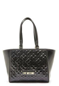 Love Moschino Quilted Bag Black Bubbleroom.eu