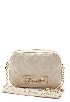 Love Moschino Quilted Bum Bag Ivory Bubbleroom.eu