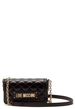 Love Moschino Quilted Chain Bag Black Bubbleroom.eu