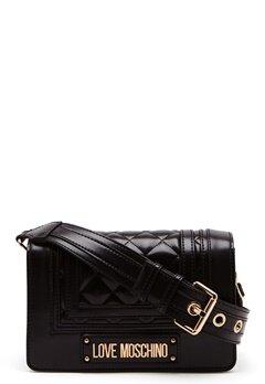 Love Moschino Quilted Shoulder Bag Black Bubbleroom.eu