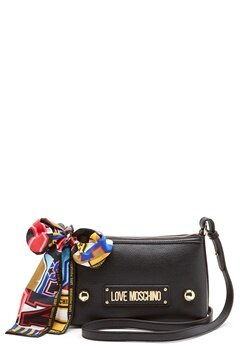 Love Moschino Small Scarf Bag Black Bubbleroom.eu