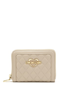 Love Moschino Wallet 108 Taupe/Sand Bubbleroom.eu