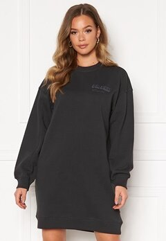 Dr. Denim Lowe Sweatshirt Dress B87 Graphite NV Shad Bubbleroom.eu