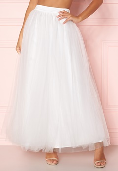 Y.A.S Lucy Maxi Skirt Star White Bubbleroom.eu