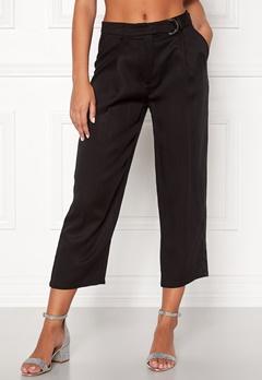 VILA Lyocella 7/8 Pants Black Bubbleroom.eu