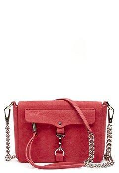 Rebecca Minkoff Mab Flap Crossbody Bag 666 Scarlett/Silver Bubbleroom.eu